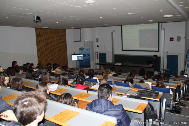 Masterclasses internationales de physique