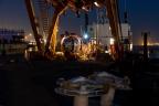 Déploiement maritime de lignes ORCA du détecteur de neutrinos KM3NeT