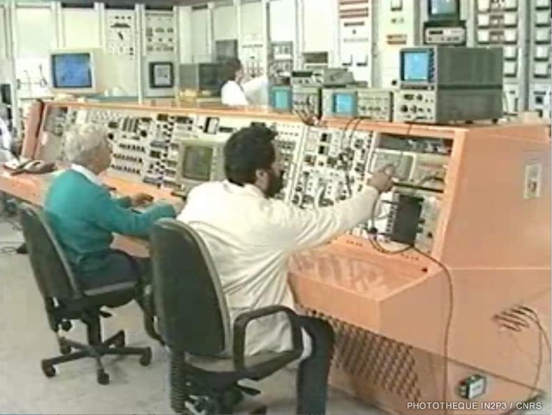 Salle de contrôle de SARA, ISN