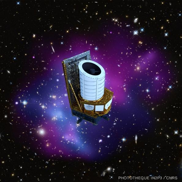 Vue d'artiste du satellite Euclid