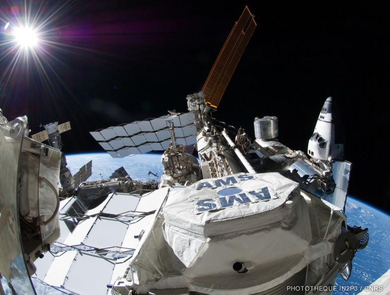 L'instrument AMS sur la Station spatiale internationale