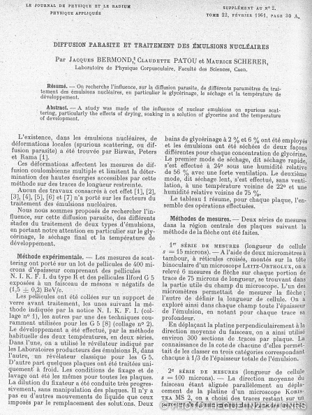 LPC Caen, la création 1947