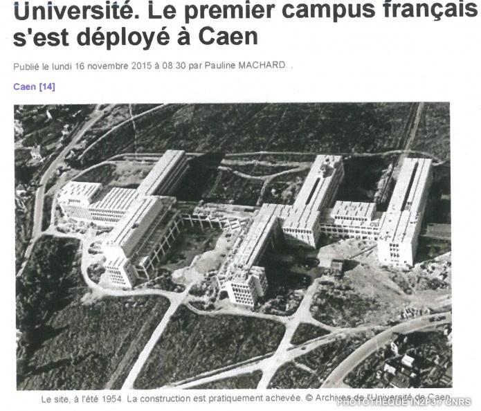 LPC Caen, la création 1947. Après la guerre, sous l'impulsion du recteur Pierre Daure, l'Université de Caen est reconstruite sur le plateau du Gaillon et le LPC Caen prend possession de ses nouveaux locaux en 1955.