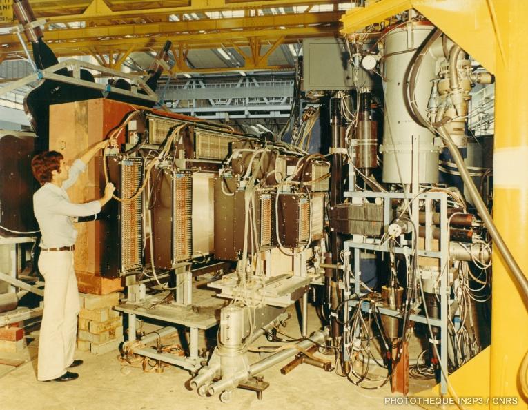 LPC Caen, Le développement (1960-1970). Chambres multifils de type CHARPAK utilisées pour l'expérience K-n -> K-n au CERN (1973 – 1974)