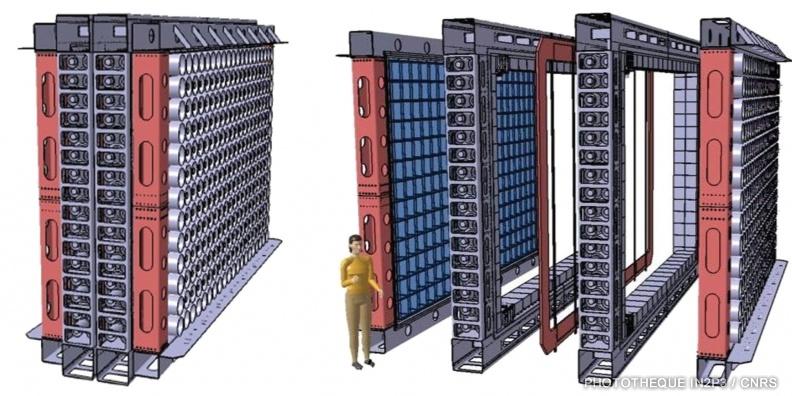 Le LPC Caen, Des réalisations récentes (2000-2020). Dans la continuité de NEMO3, le projet SUPERNEMO permettra d'obtenir la meilleure mesure sur le temps de vie de la désintégration double beta sans neutrino (ββ0v) au LSM à Modane.