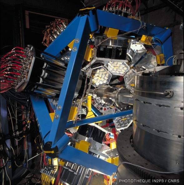 Multidétecteur de rayonnement gamma TAPS.