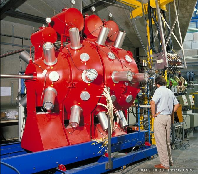 Détecteur de neutrons ORION.