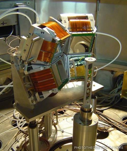 Multidétecteur de particules chargées MUST2.