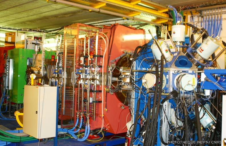Multidétecteur de rayonnement gamma EXOGAM.