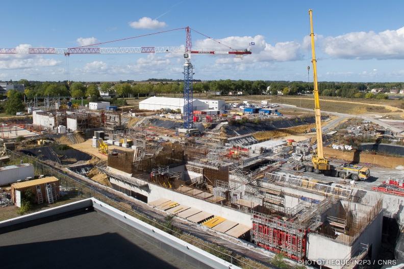 Construction de l'installation SPIRAL2 du GANIL