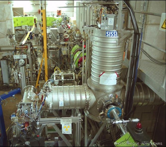 Dispositif de production d'ions radioactif SISSI