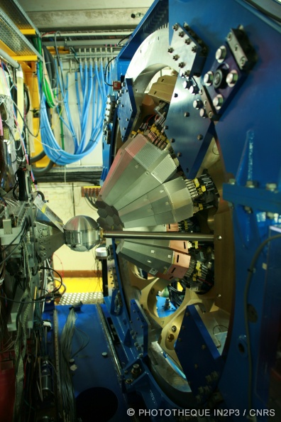 Multidétecteur de rayonnement gamma AGATA