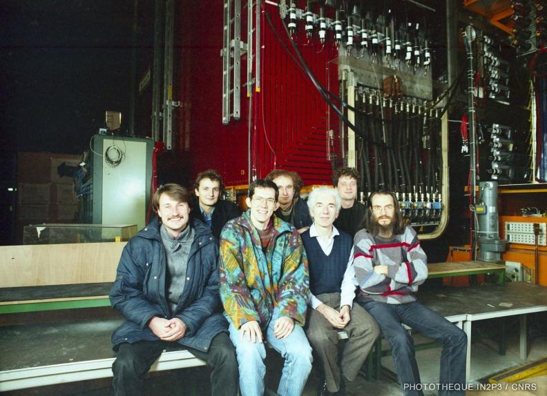 Membres du LPNHE de la collaboration NOMAD