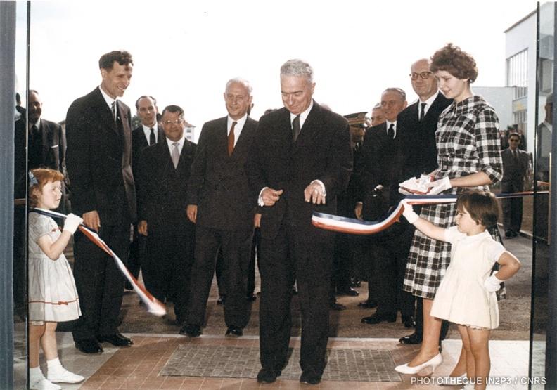 Inauguration du CRN le 20/05/1960