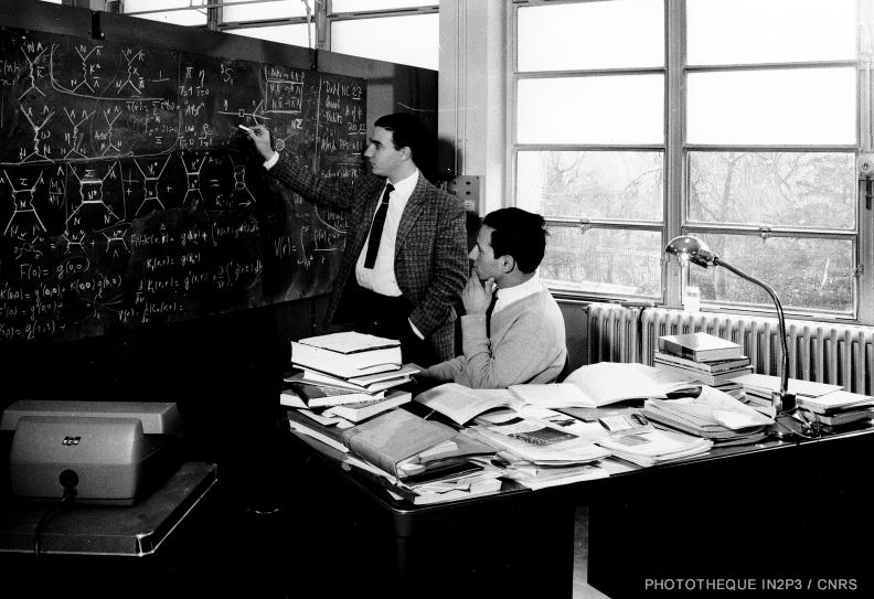 Laboratoire de Physique Nucléaire en 1958