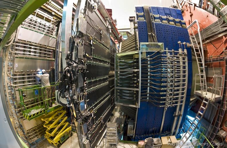 Construction Détecteur ALICE ©CERN