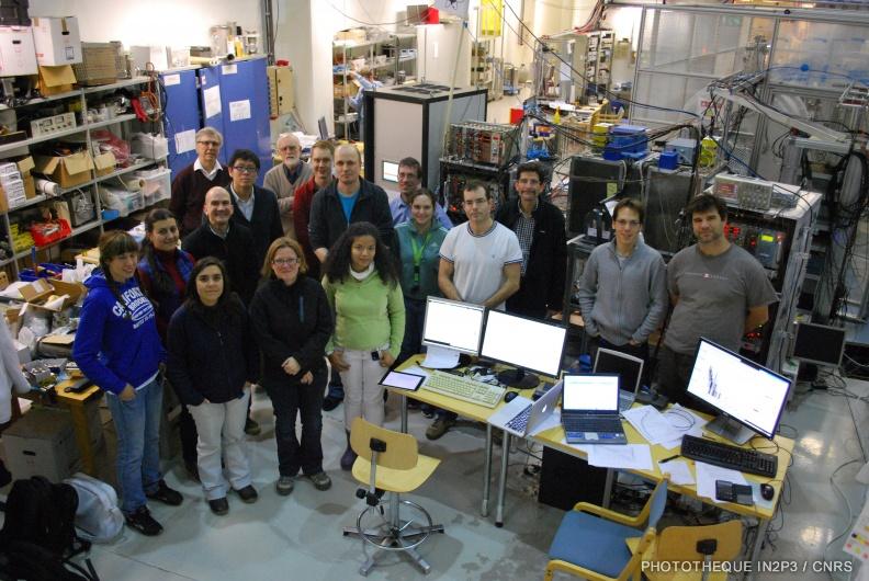 L'équipe pour l'expérience Jyvaskyla ©Subatech