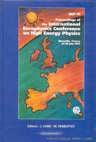 1ere Conference scientifique_HEP93
