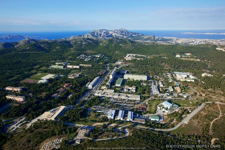 Campus universitaire de Luminy, Marseille