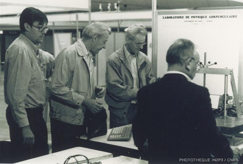 Congrès national SFP « La physique dans la ville » Centre des congrès de Caen, septembre 1991