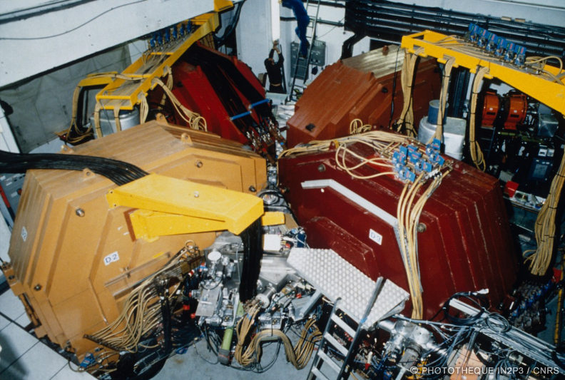 Second cyclotron de l'accélérateur SARA