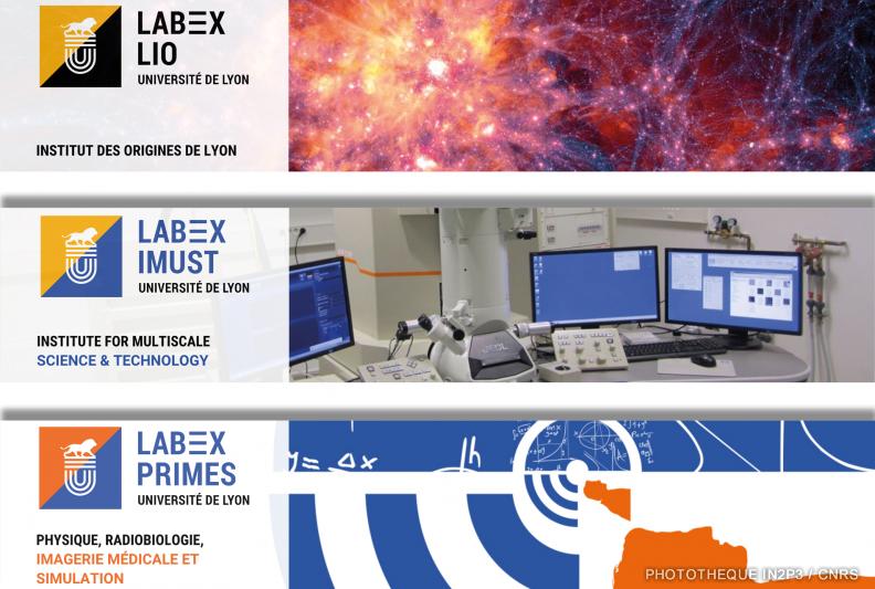 LIO, iMUST et PRIMES, 3 LabEx cofondés par l'IP2I.