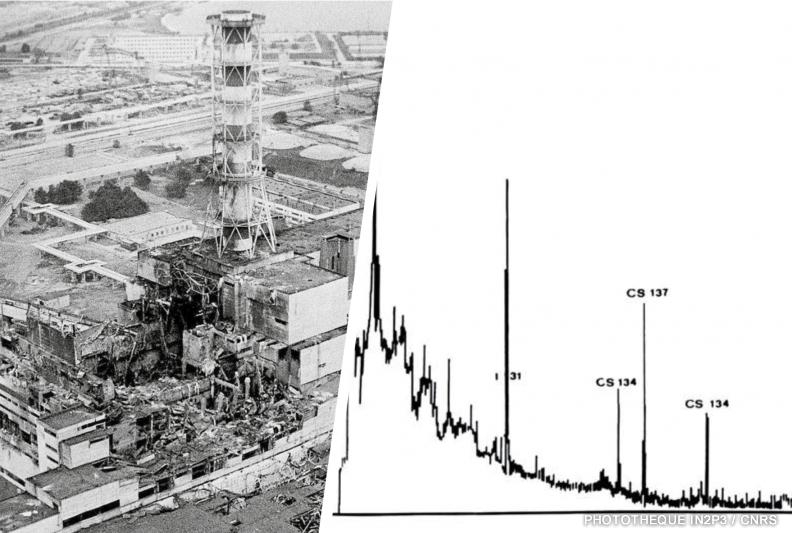 Accident de Tchernobyl et radioactivité mesurée en France