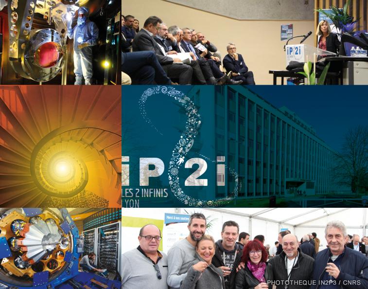 Inauguration de l'Institut de Physique des 2 Infinis de Lyon (IP2I)