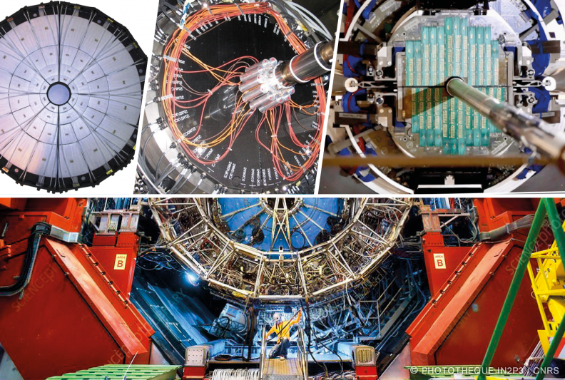 Déctecteurs V0 et MFT sur l'expérience ALICE au LHC/CERN (IP2I)