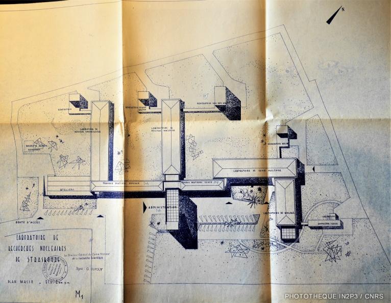 Plan original du CRN