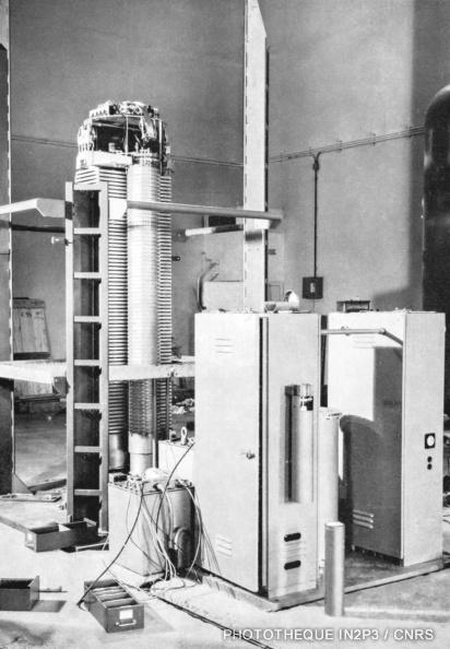 Accélérateur 3 MV vertical
