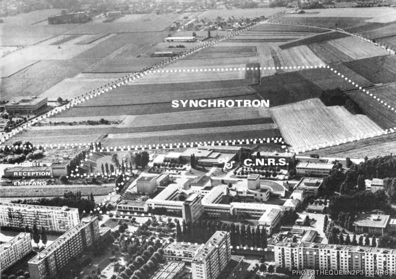 Emplacement du Synchrotron