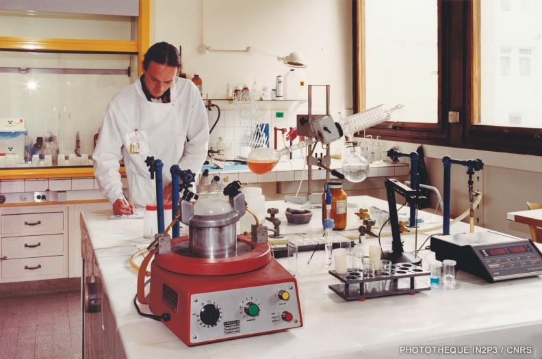 Laboratoire de radiochimie