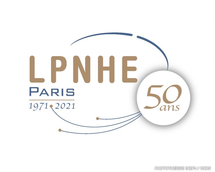 Logo LPNHE 50 ans