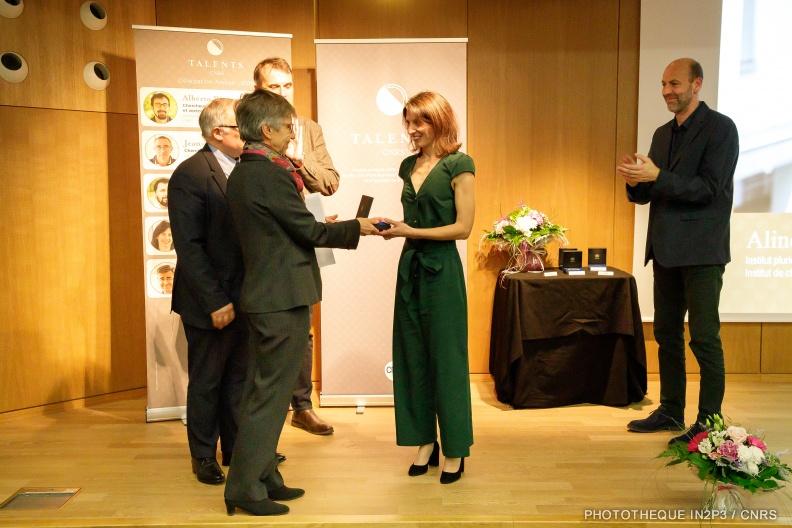 Aline Nonat - Médaille de Bronze du CNRS